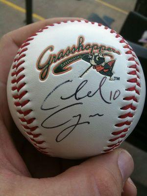 Chad Cregar Autograph