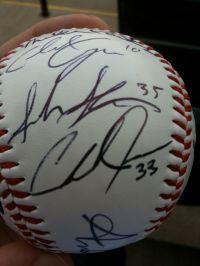 Chad James Autograph