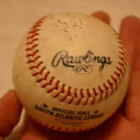 First Inning Warm-up Ball