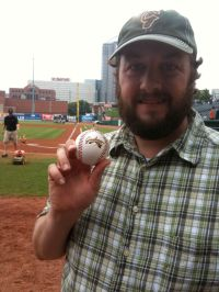 Greg and the First Pitch Ball