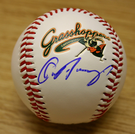 Paulino Autograph First Pitch Ball