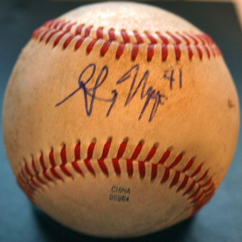 Greg Nappo Autograph