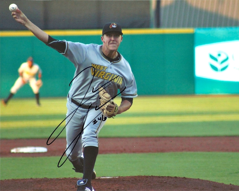 Jameson Taillon Autograph, Photo Credit: Pete